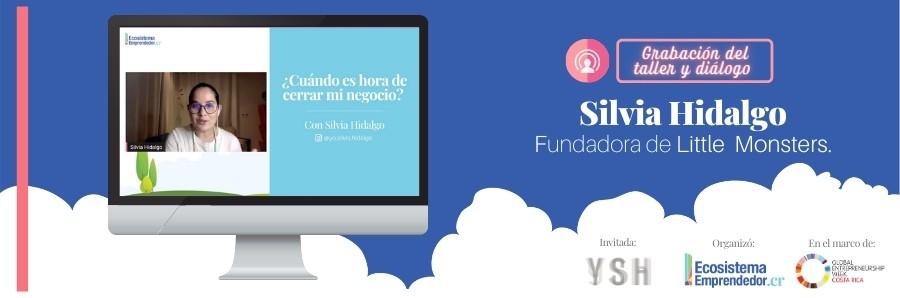 Silvia Hidalgo - Fundadora de Little Monsters - Yo.Silvia.Hidalgo - Charla